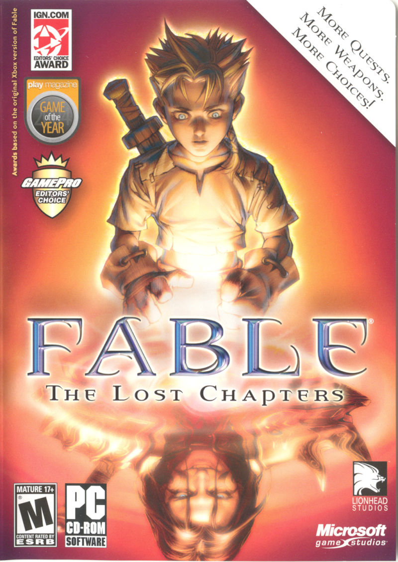 Fable: The Lost Chapters Windows Other Keep Case - Front