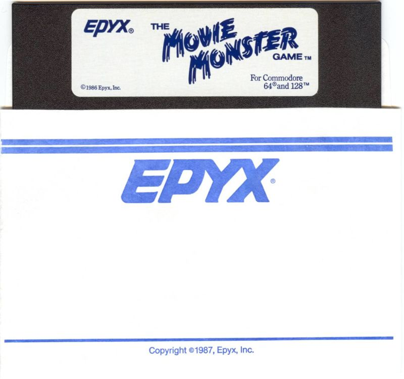 The Movie Monster Game Commodore 64 Media