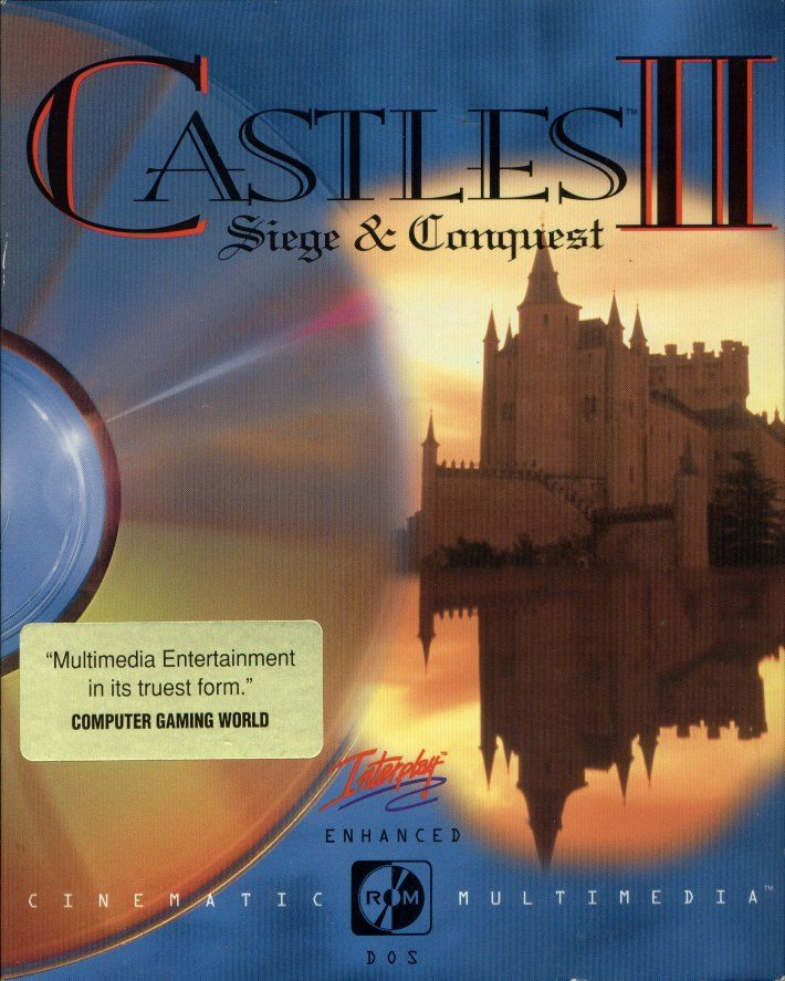 Castles II: Siege & Conquest DOS Front Cover