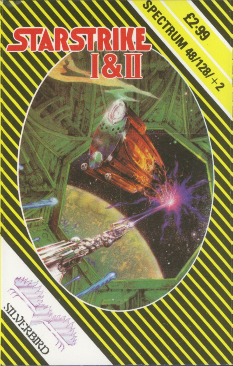 Starstrike I & II ZX Spectrum Front Cover