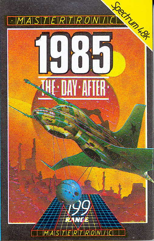 1985: The Day After ZX Spectrum Front Cover