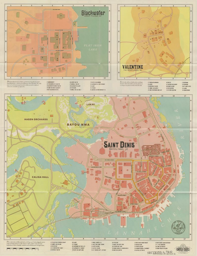 red dead redemption 2 map size