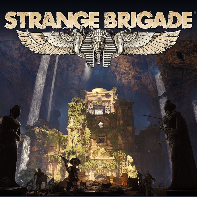Strange Brigade: The Thrice Damned 2: The Sunken Kingdom PlayStation 4 Front Cover