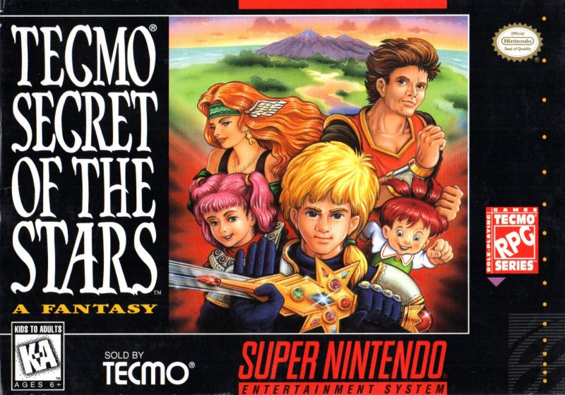 Image result for box art secret of the stars
