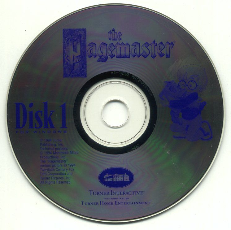 The Pagemaster Windows 3.x Media Disc 1