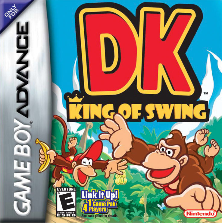 DK: King of Swing Game Boy Advance Front Cover