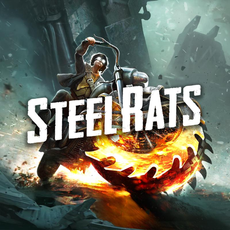 Steel Rats: Wreck and Ride! PlayStation 4 Front Cover