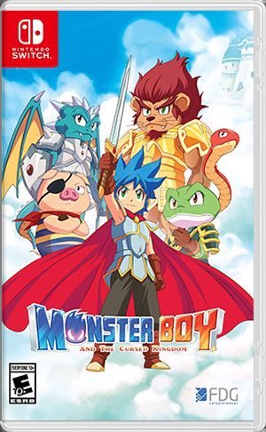 обложка 90x90 Monster Boy and the Cursed Kingdom