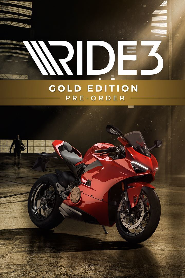 ride 3 gold edition 2018 playstation 4 box cover art. Black Bedroom Furniture Sets. Home Design Ideas