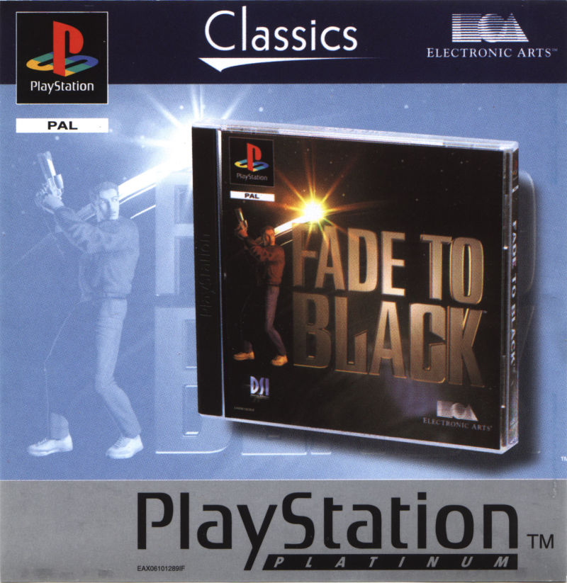 Fade to Black PlayStation Front Cover