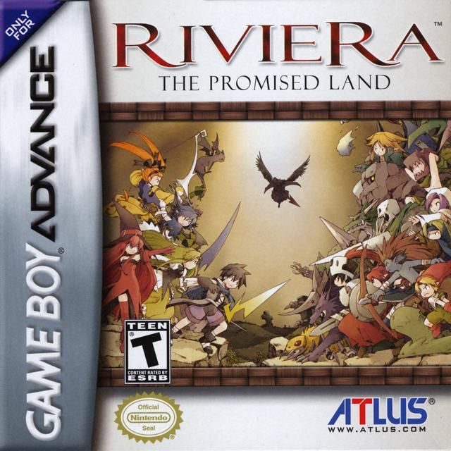 Riviera: The Promised Land Game Boy Advance Front Cover