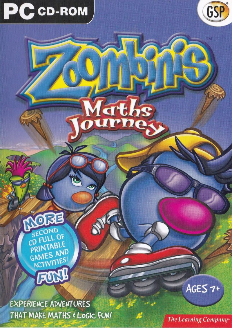 photograph relating to Printable Game Covers identified as Zoombinis Triple Pack (2004) Home windows box include artwork - MobyGames