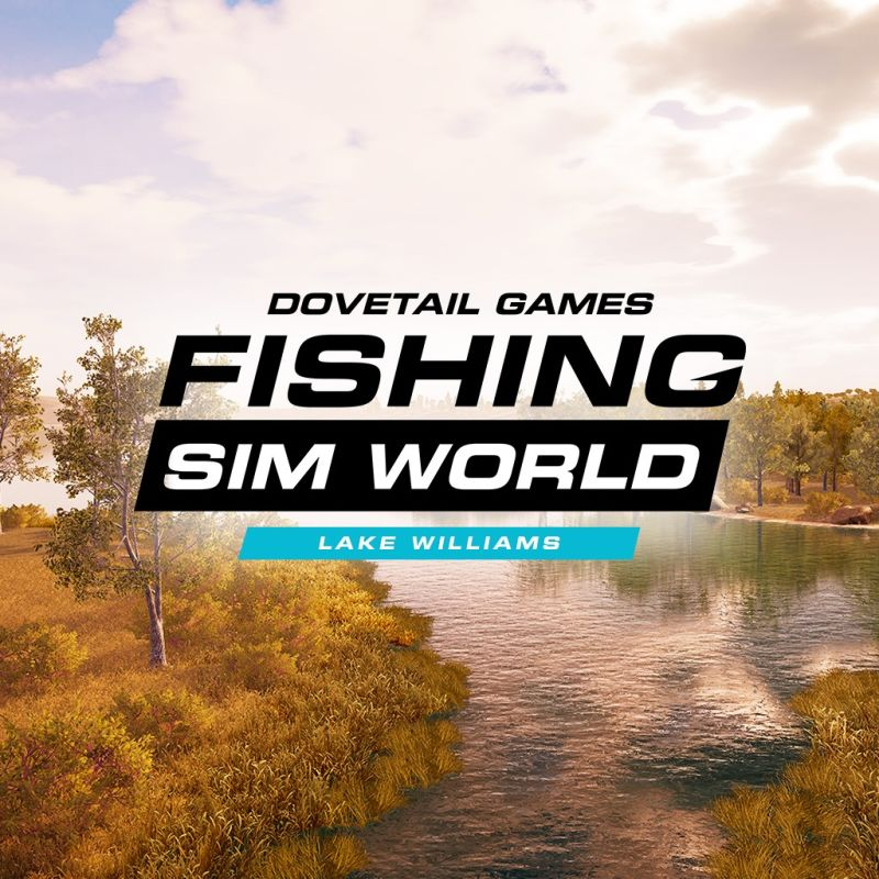 Fishing Sim World: Lake Williams PlayStation 4 Front Cover
