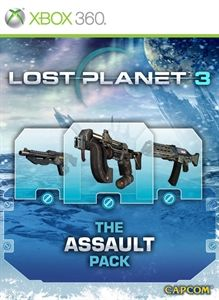 Lost Planet 3: The Assault Pack (2013) Xbox 360 box cover