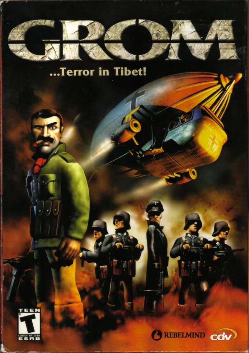 GROM: ...Terror in Tibet! Windows Front Cover