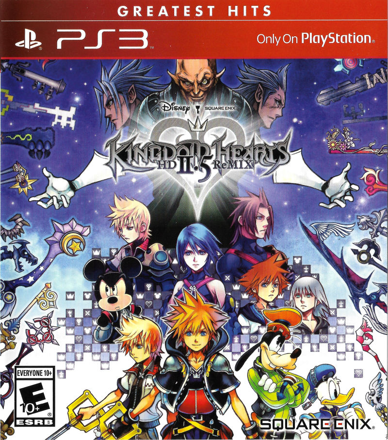 Kingdom Hearts Hd Ii 5 Remix For Playstation 3 2014 Mobyrank Mobygames