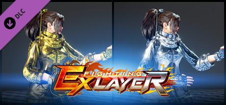 Fighting EX Layer: Color Gold/Silver: Sanane