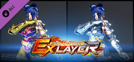 Fighting EX Layer: Color Gold/Silver: Blair