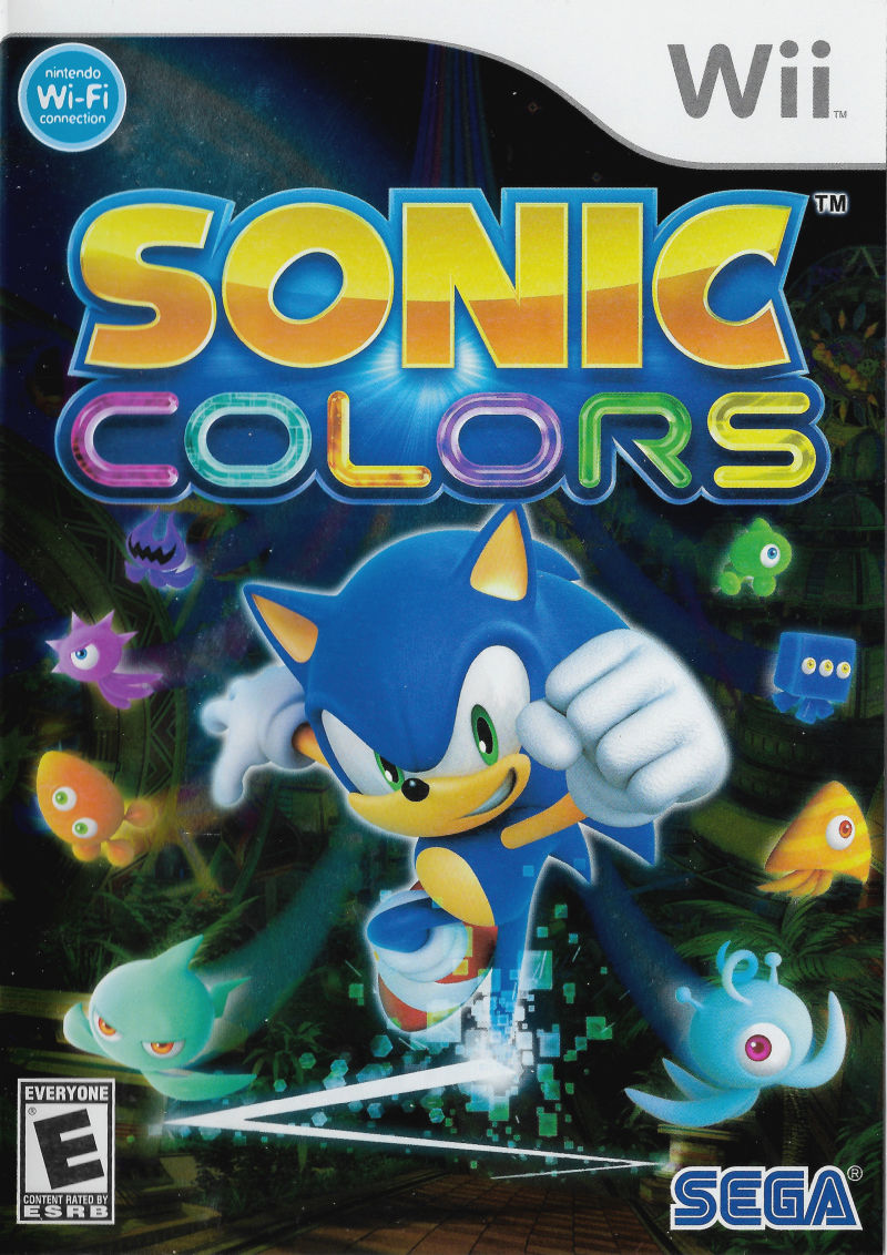 Sonic Colors For Wii 2010 Mobygames