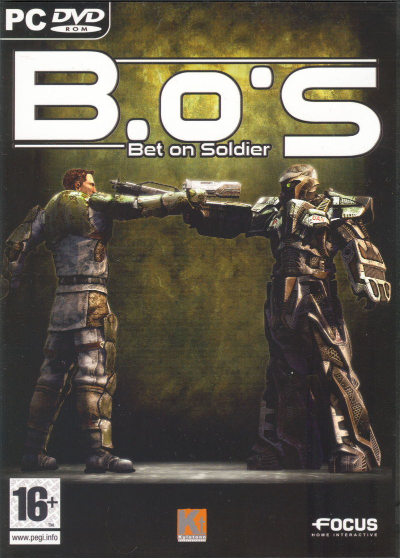 Bet On Soldier Blood Sport 2005 Windows Box Cover Art