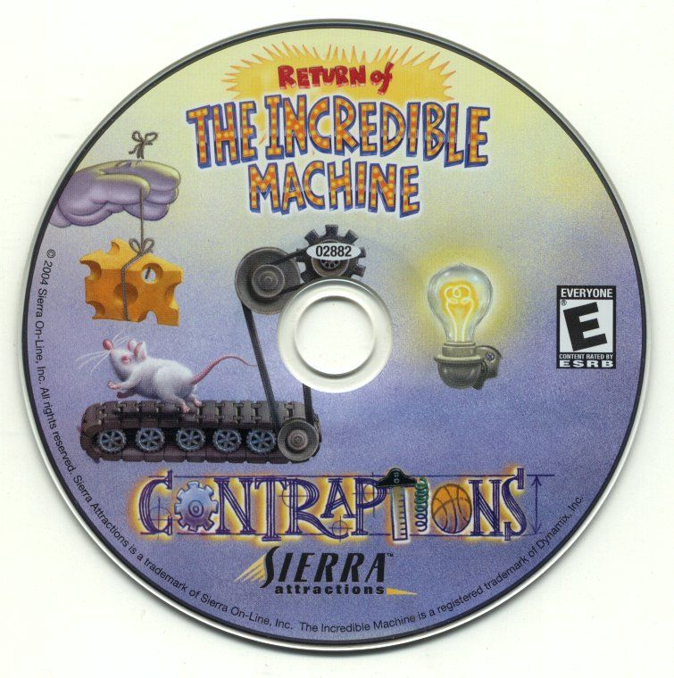 Return of the Incredible Machine: Contraptions Windows Media