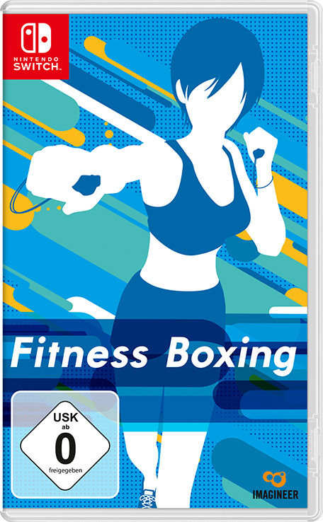 Fitness Boxing Nintendo Switch Front Cover