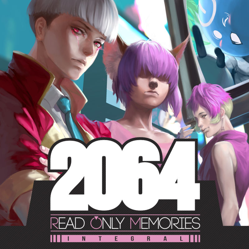 2064: Read Only Memories - Integral Nintendo Switch Front Cover