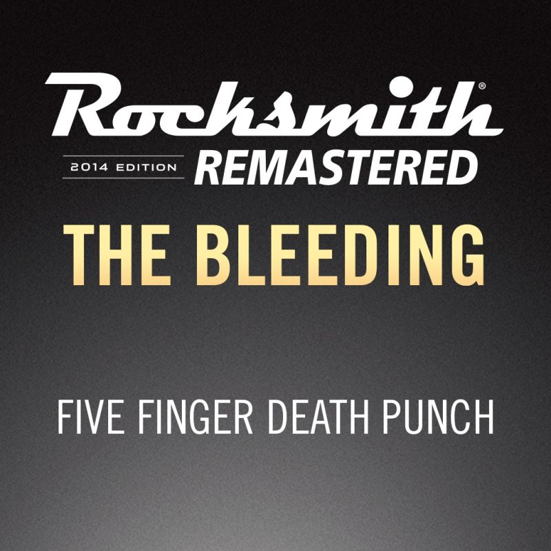 Rocksmith 2014 Edition Remastered Five Finger Punch The Bleeding Playstation 3 Front