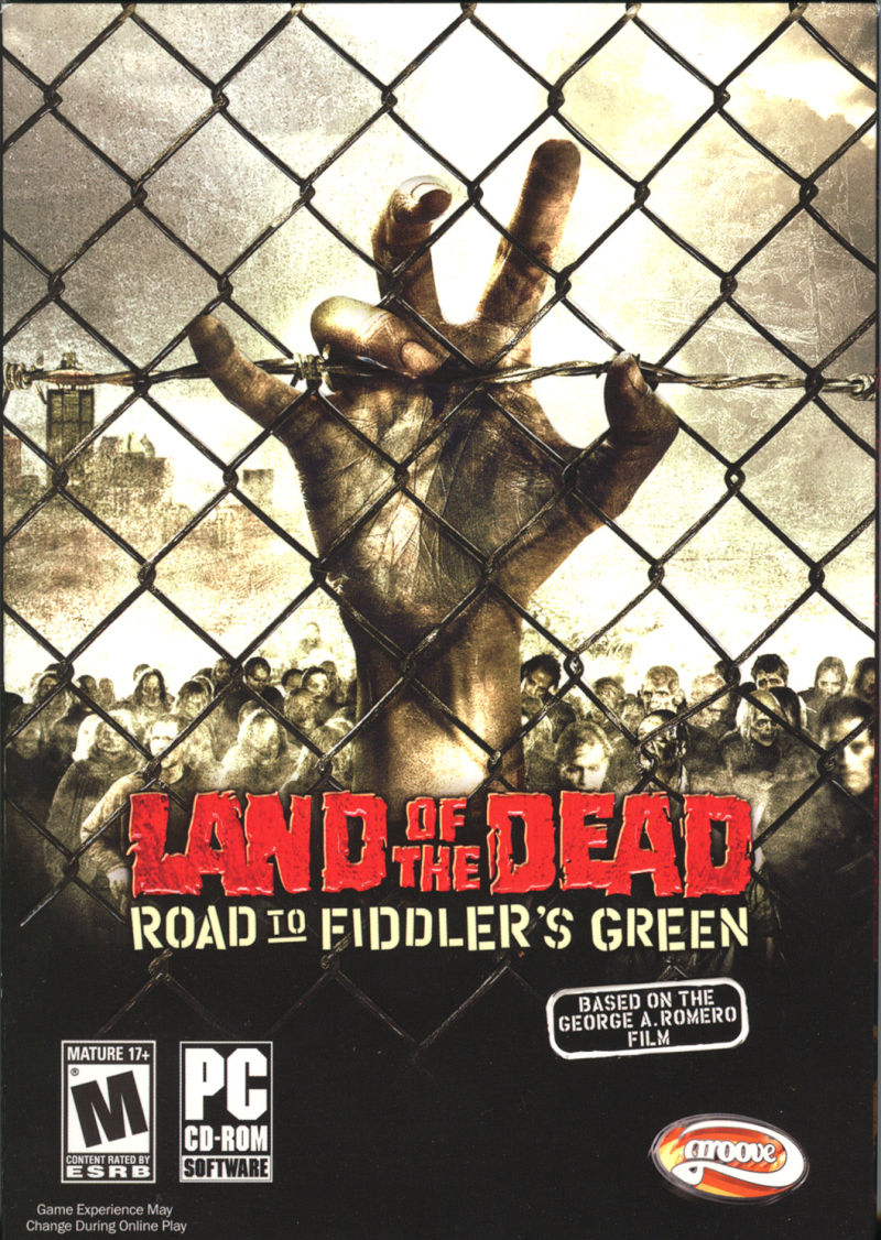 Land of the Dead: Road to Fiddler's Green Windows Front Cover