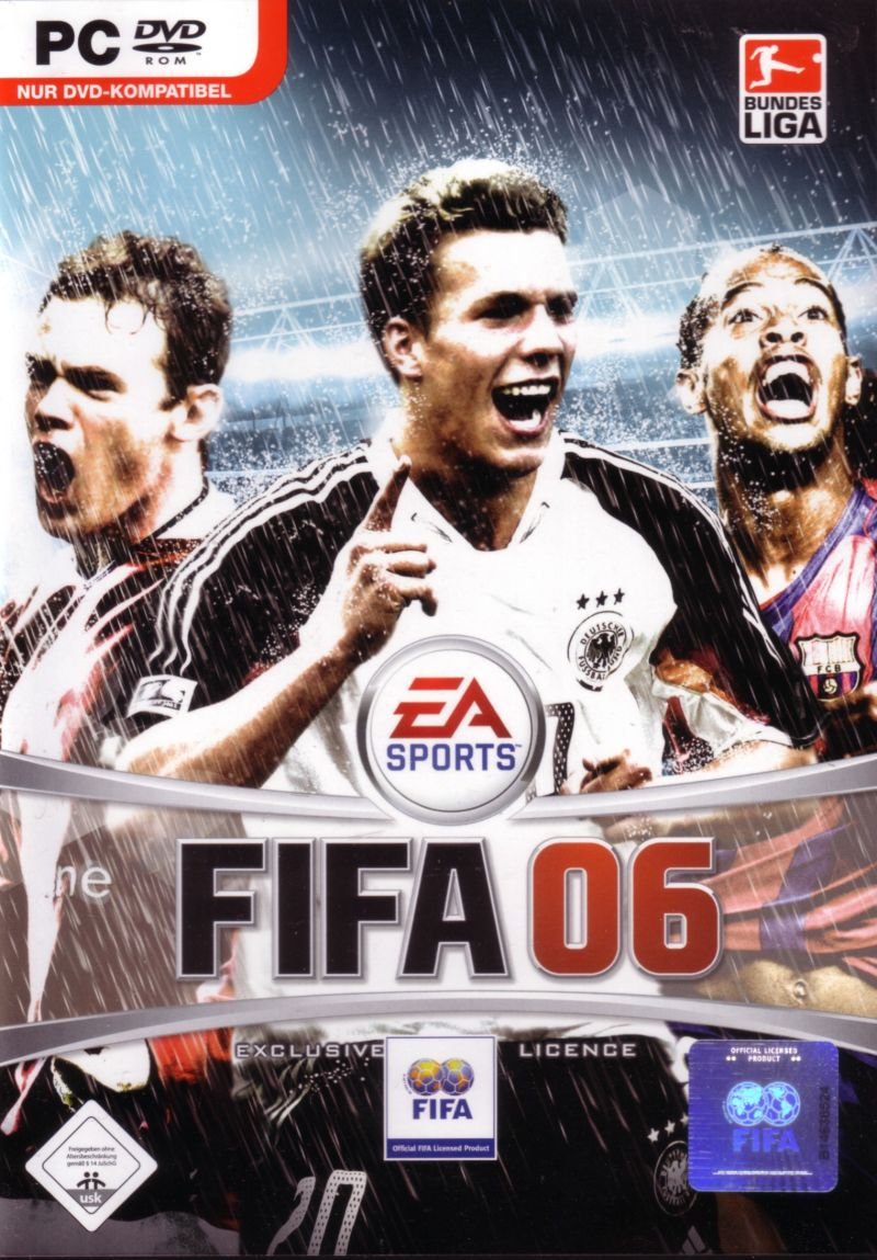 FIFA Soccer 06 Windows Front Cover