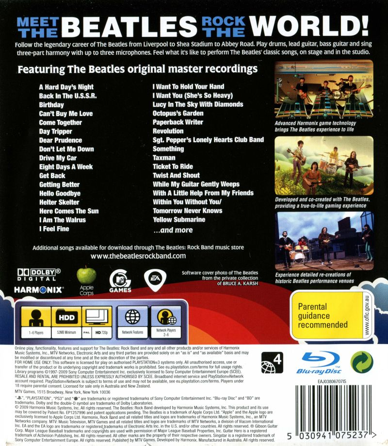 Can't buy me love beatles rock band