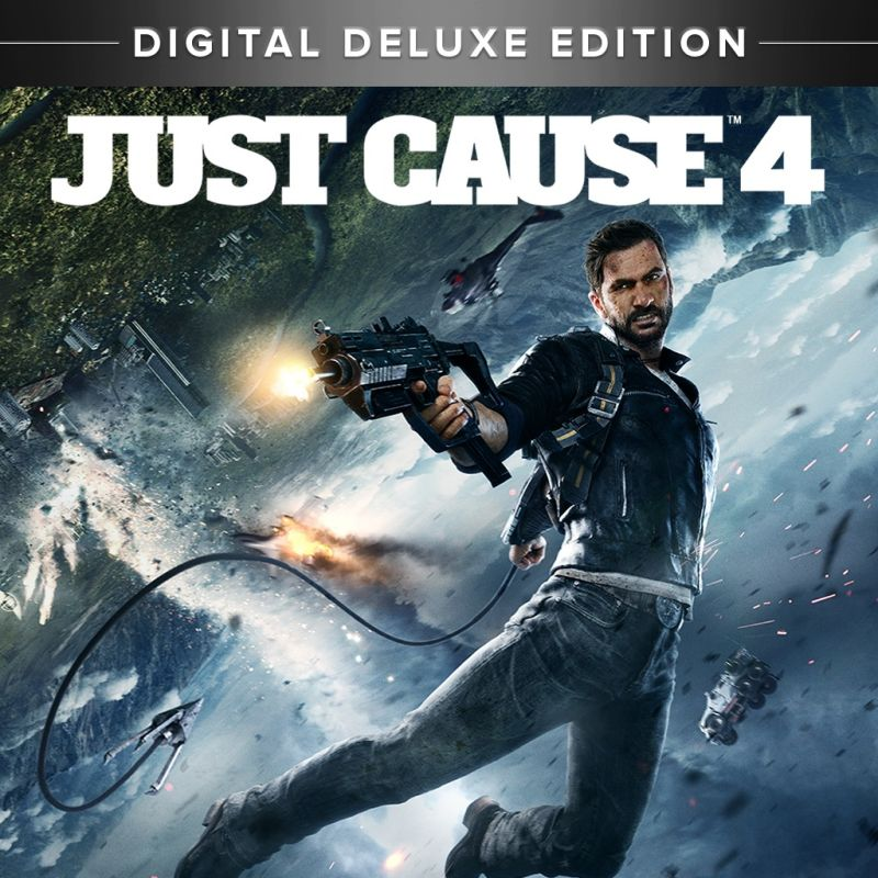 Just Cause 4: Digital Deluxe Edition PlayStation 4 Front Cover