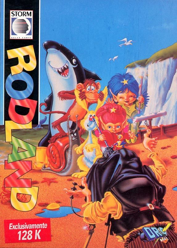 Rodland ZX Spectrum Front Cover