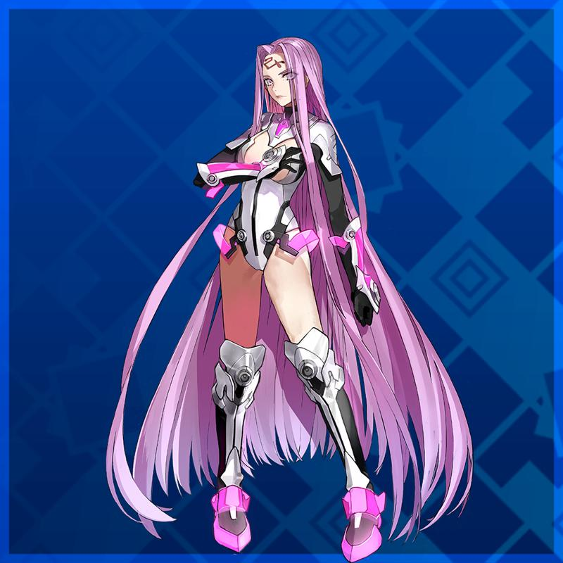 Fate/EXTELLA: The Umbral Star - Mecha Lady Medusa PlayStation 4 Front Cover