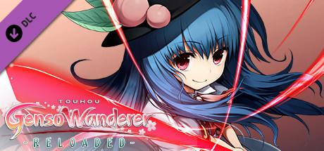"Touhou: Genso Wanderer - Reloaded: Player & Partner Character ""Tenshi Hinanawi"""
