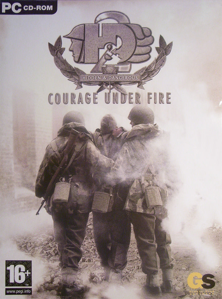 Hidden & Dangerous 2: Courage Under Fire Windows Front Cover