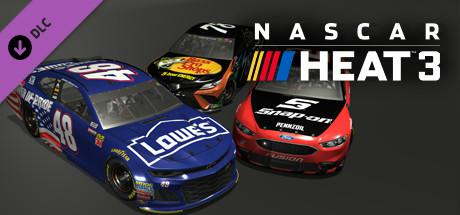 NASCAR Heat 3: December Pack Windows Front Cover