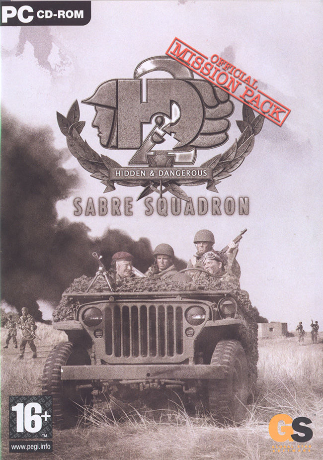 Hidden & Dangerous 2: Sabre Squadron Windows Front Cover