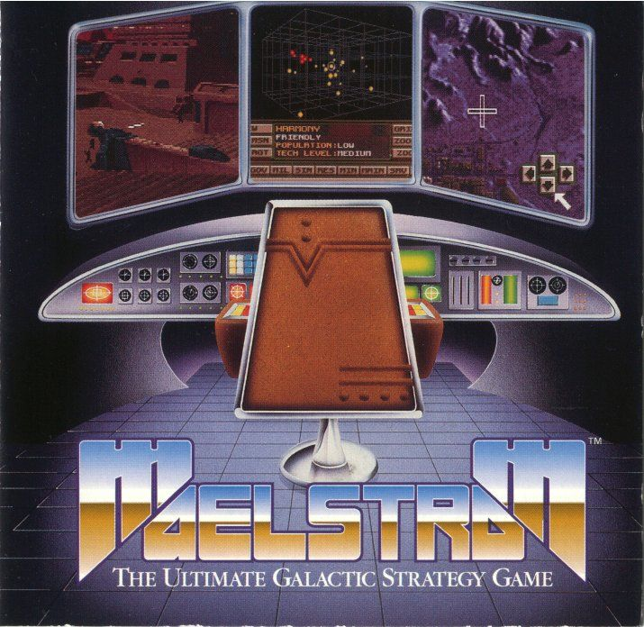 Maelstrom DOS Front Cover