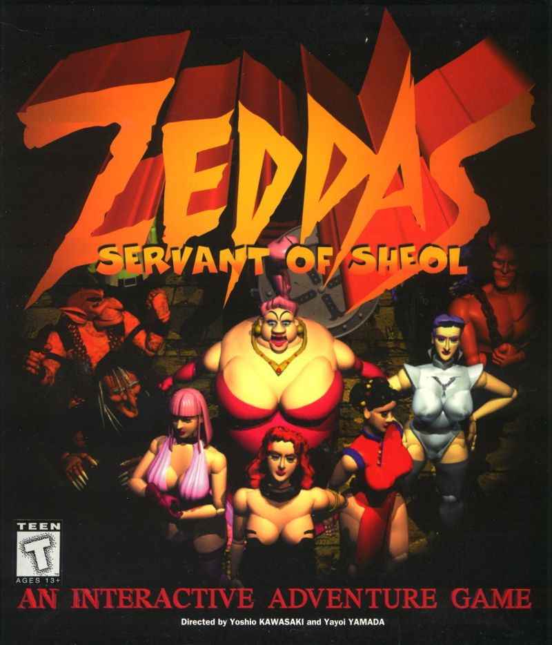 Zeddas: Servant of Sheol Windows 3.x Front Cover