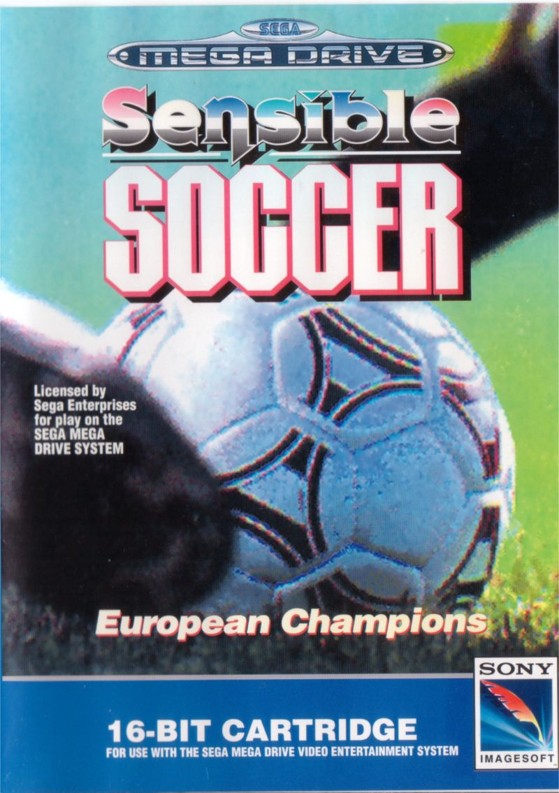 Sensible Soccer: European Champions: 92/93 Edition Genesis Front Cover