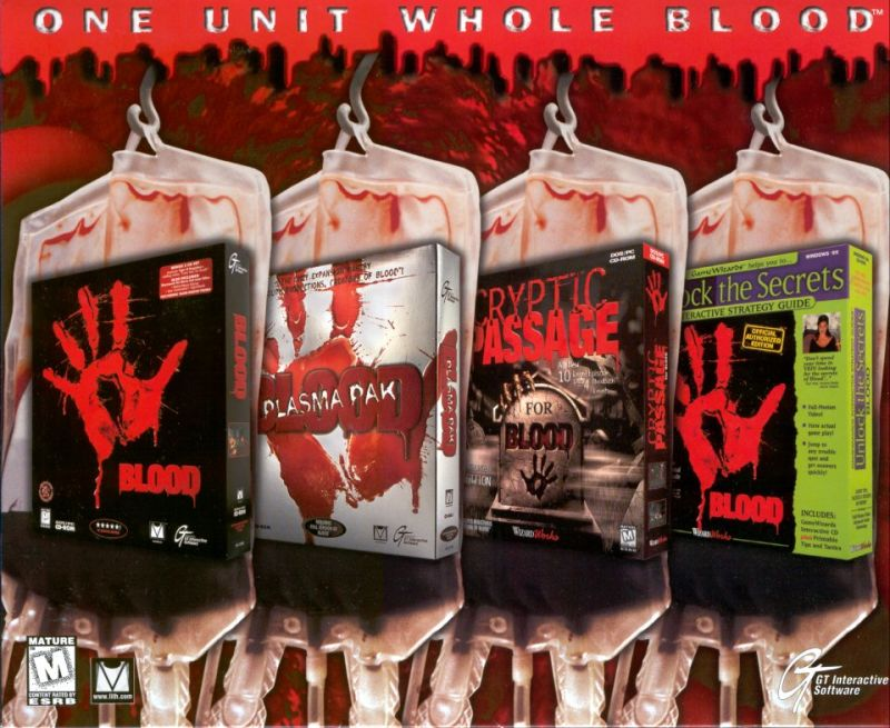 One Unit Whole Blood DOS Front Cover