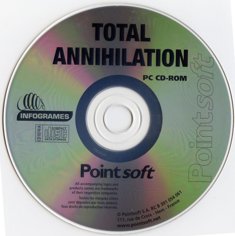 Total Annihilation Windows Media Disc 1/2