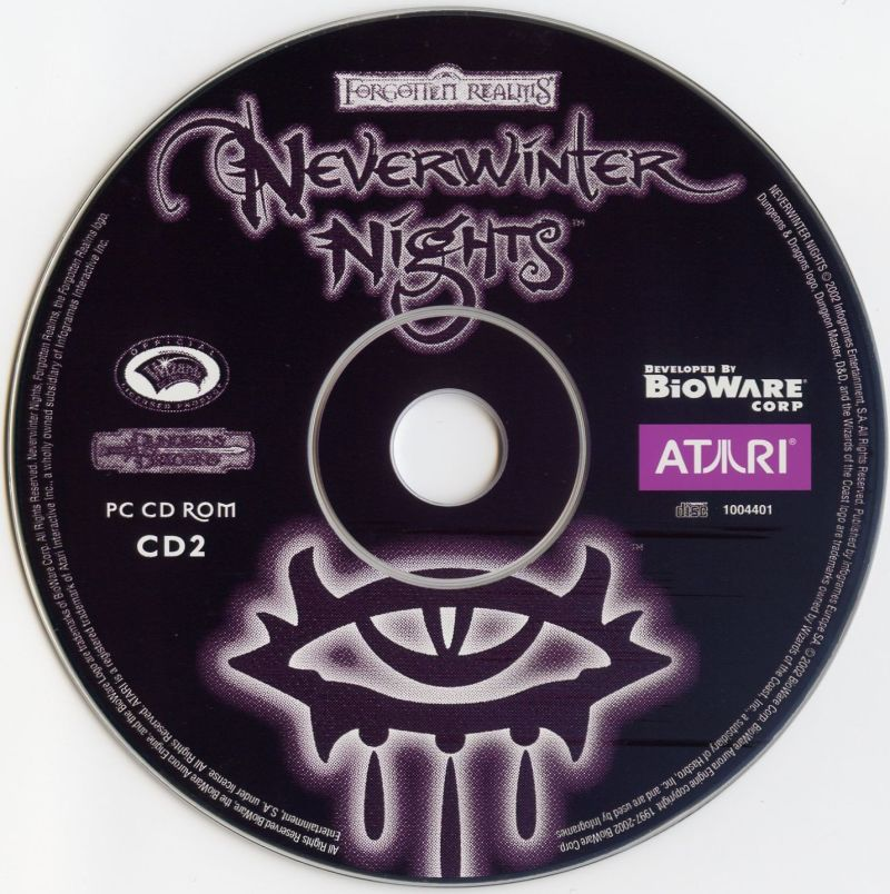 Neverwinter Nights Windows Media Disc 2
