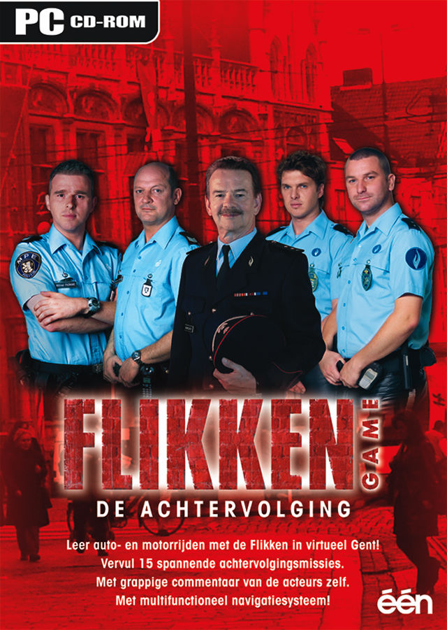 Flikken Game: De Achtervolging Windows Front Cover