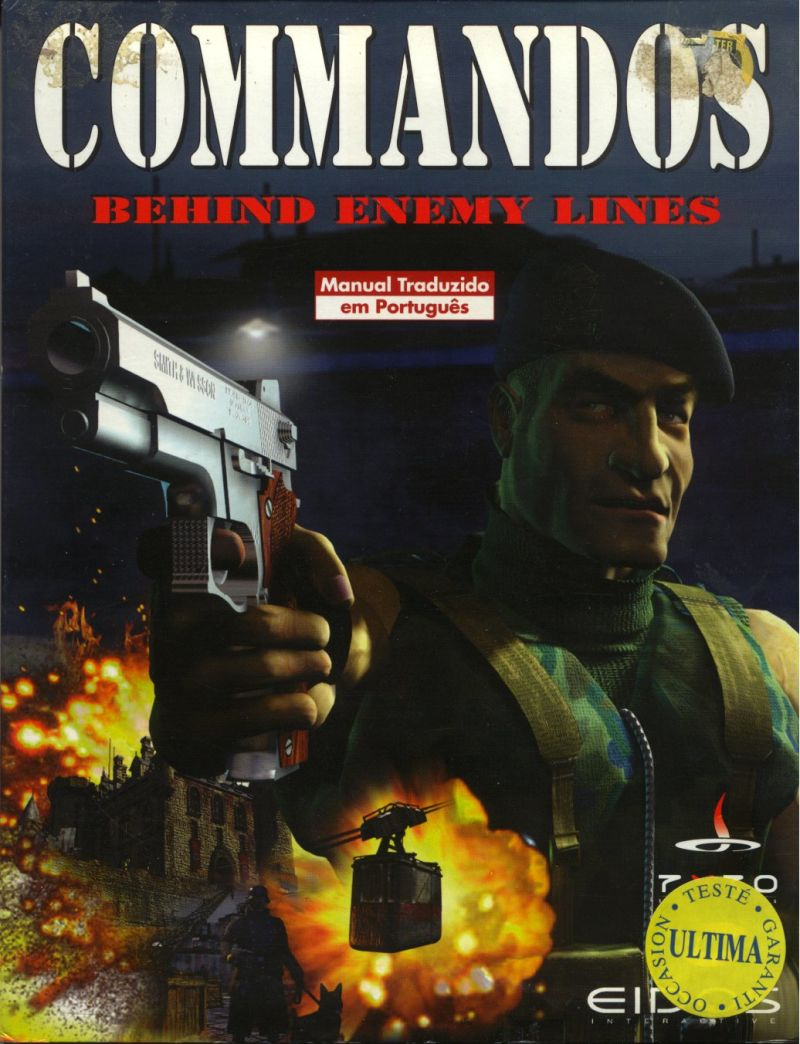 Commandos: Behind Enemy Lines Windows Front Cover