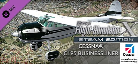 Microsoft Flight Simulator X: Steam Edition - Cessna C195 Businessliner