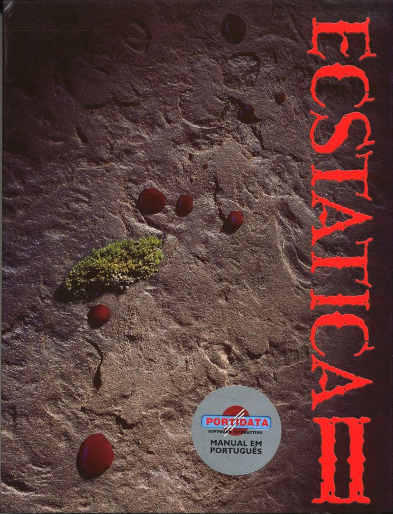 Ecstatica II DOS Front Cover