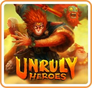 Unruly Heroes Nintendo Switch Front Cover