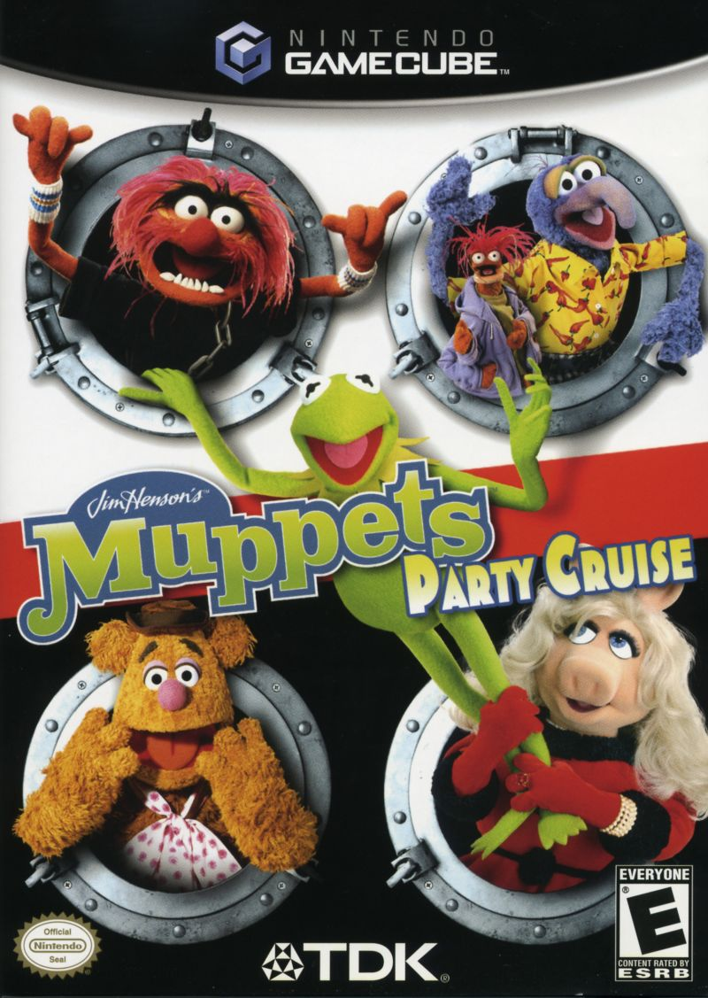 Jim Henson's Muppets Party Cruise GameCube Front Cover
